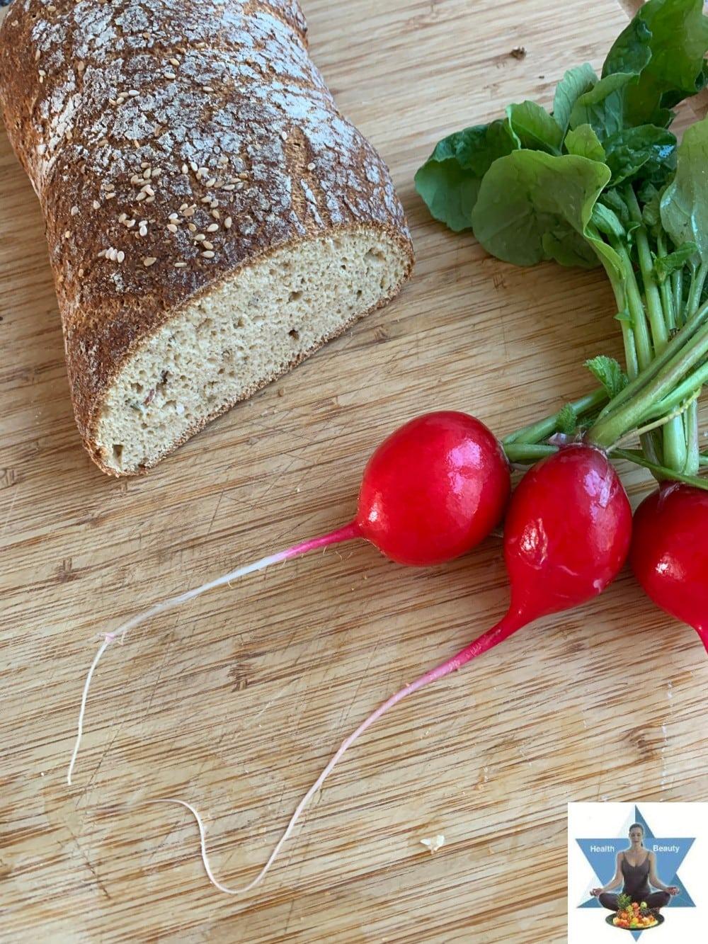 'Bambusfaser Brot