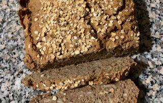 Buchweizen Braunhirse Brot