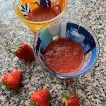 Erdbeer-Rhabarber-Creme