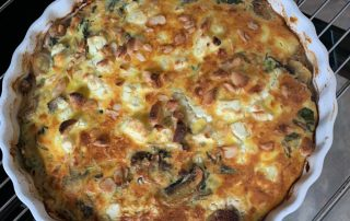 Mangold Frittata Low Carb