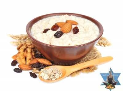 Porridge Haferfrühstück Ernährung nach den 5 Elementen