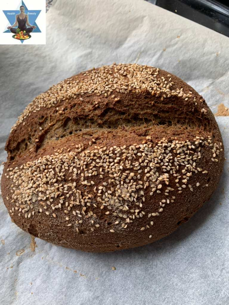 Kartoffelfaser Brot Low Carb ketogen