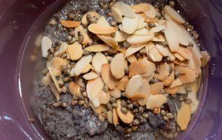 Keto Porridge mit Hanf