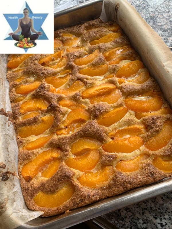 Marillenkuchen Aprikosenkuchen Low Carb