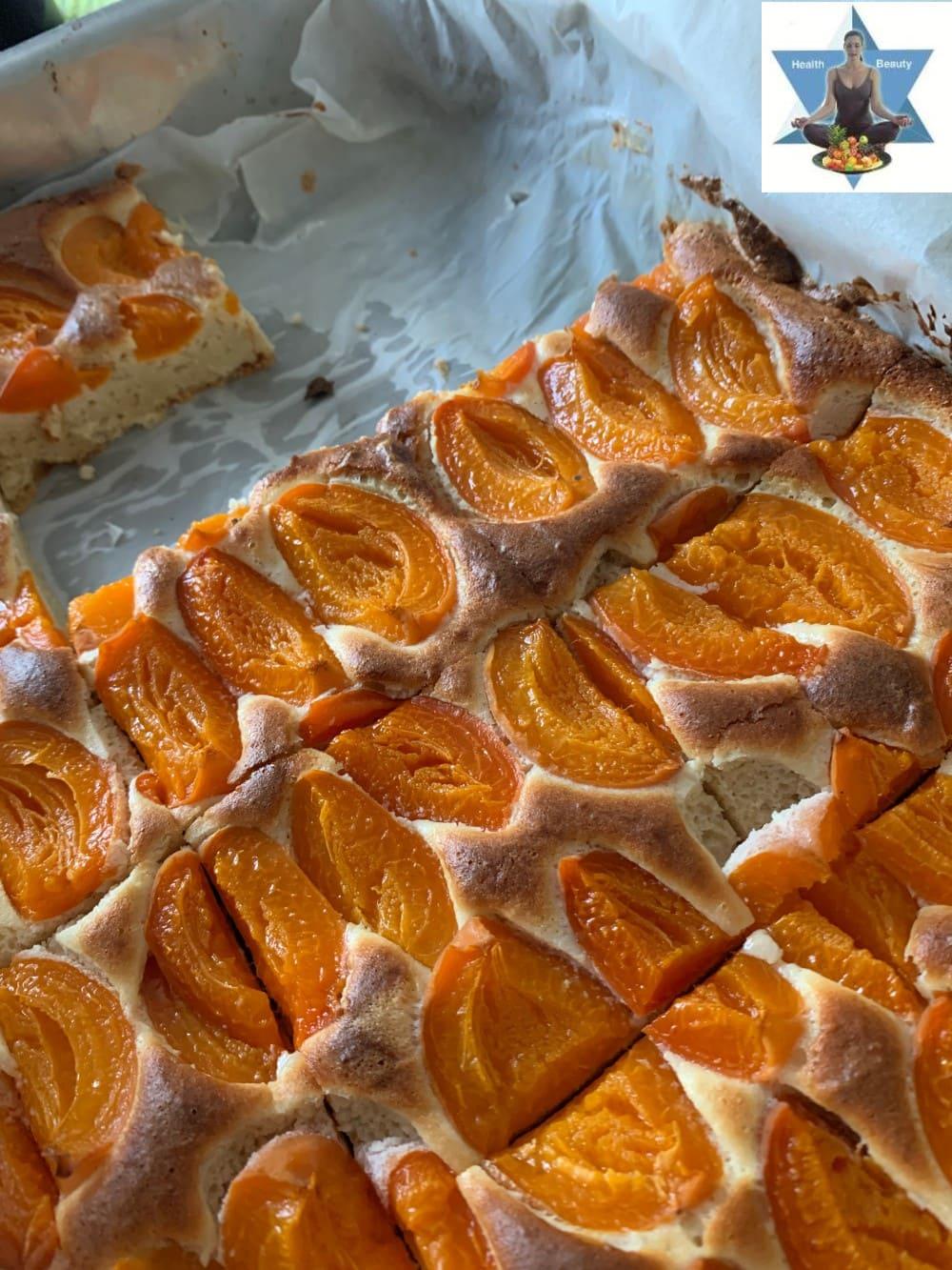 Marillenkuchen Aprikosenkuchen Low Carb ketogen