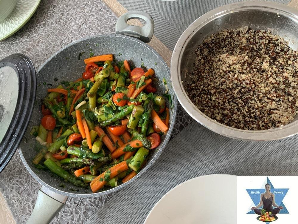 Spargel karotten Gemüse