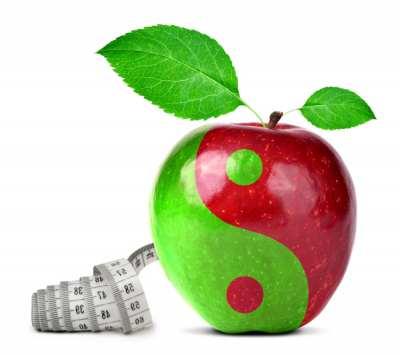 Yin Yang Apfel
