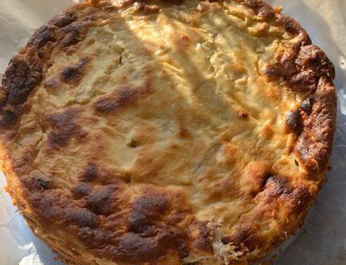 Cremiger Apfel-Topfenkuchen
