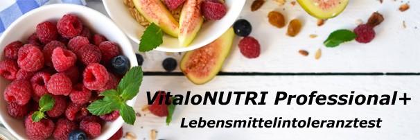 VitaloNutri Lebensmittelunverträgllichkeit testen
